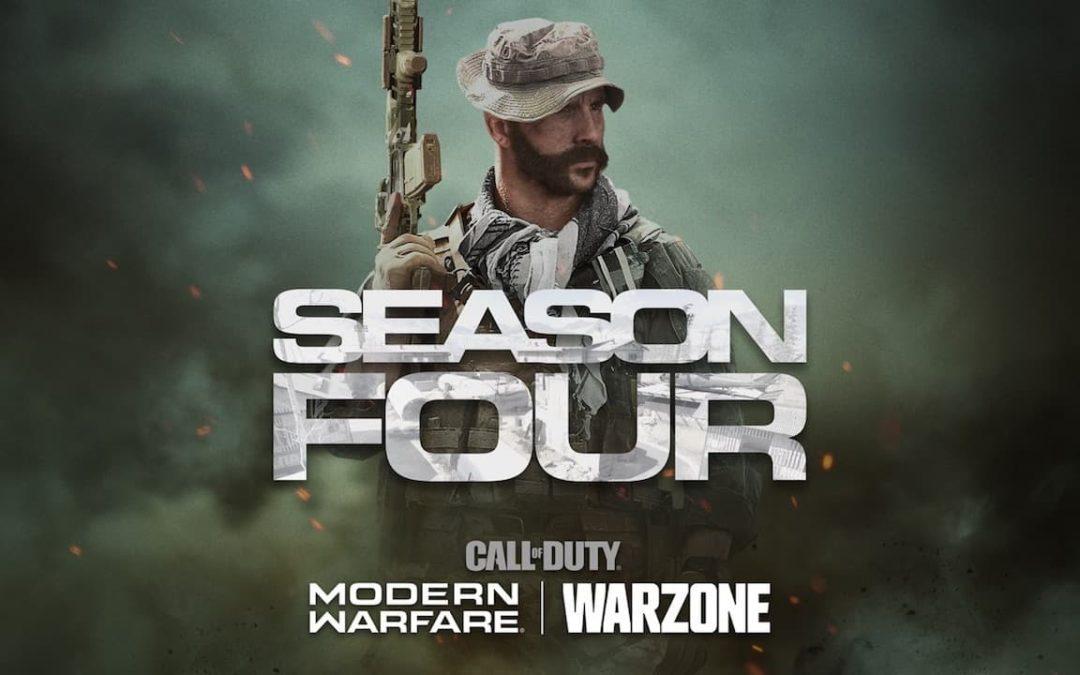 Stagione 4 Call of Duty Modern Warfare al via